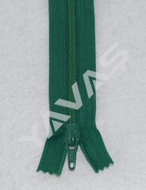 YKK Reißverschluss Nahtverdeckt 25cm gelbgrün 536